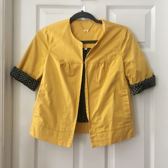 Canary Yellow Jacket | Forever 21